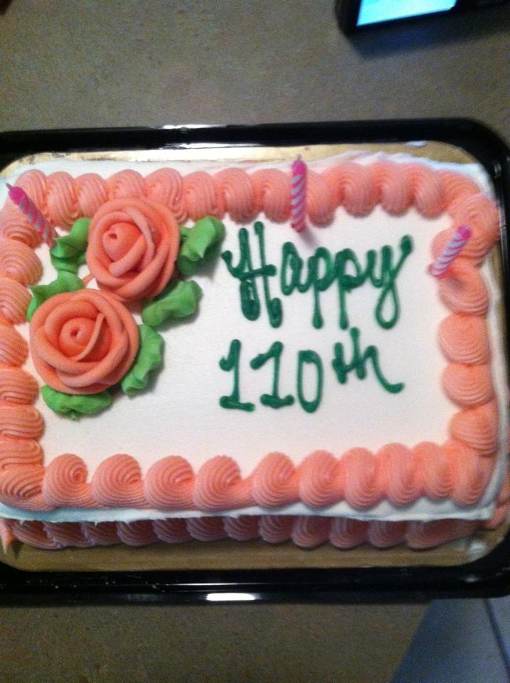 B-day Cake 110th