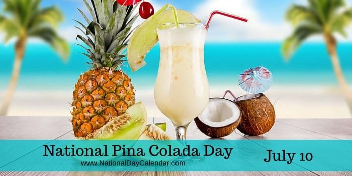 National-Pina-Colada-Day-July-10