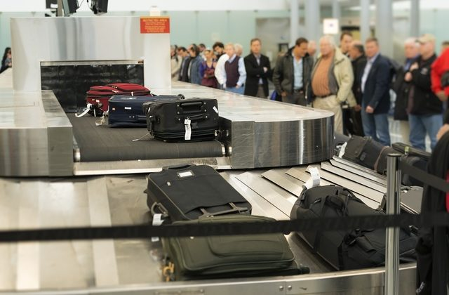 PHILADELPHIA, PENNSYLVANIA, UNITED STATES - 2013/11/10: Baggage claim conveyor at Philadelphia International Airport. (Photo by John Greim/LightRocket via Getty Images)