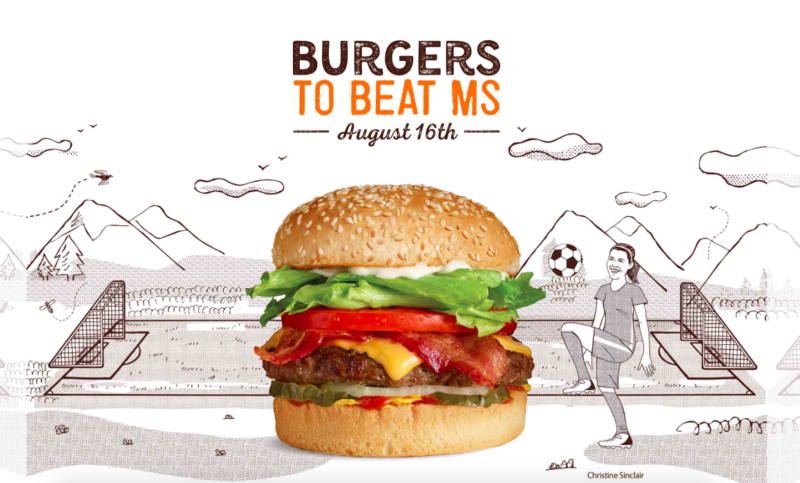 burgers to beat ms